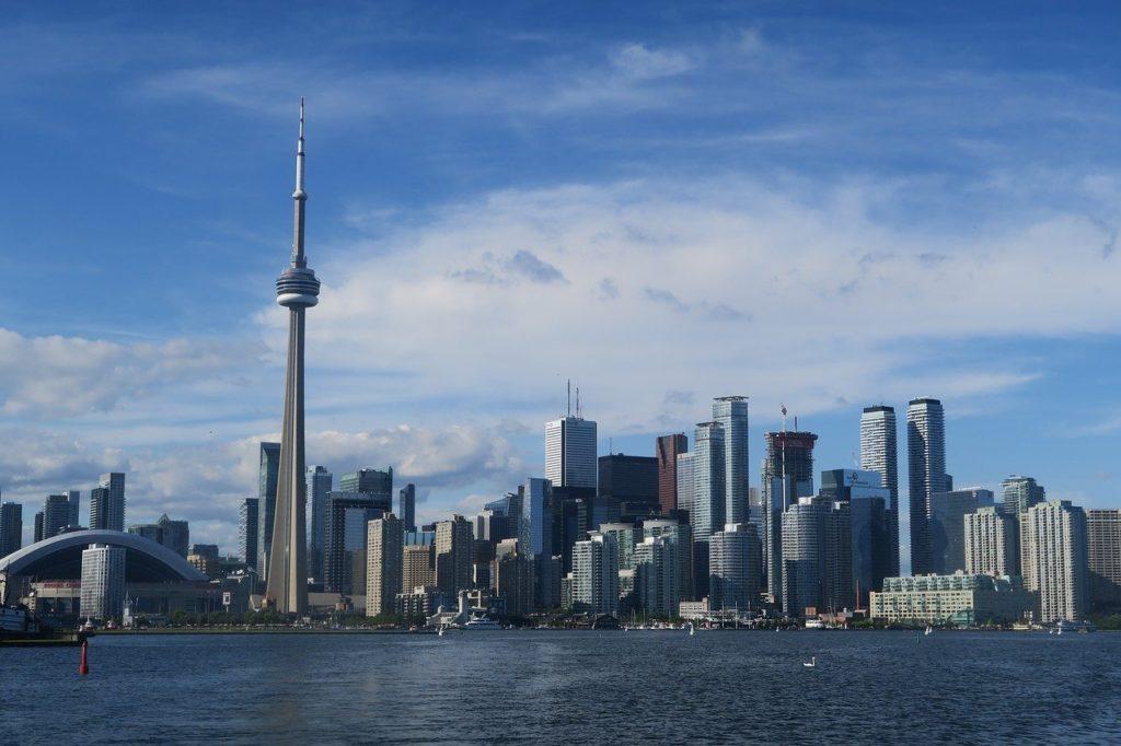 skyscraper, city, skyline